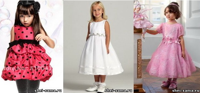 Плаття для дівчинки дошкільного віку (розмір 30) - Шийте самі - Все ... 550aa1a46bf61
