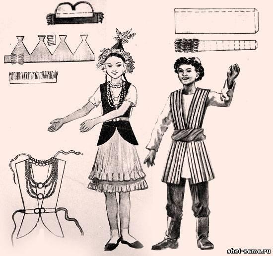 Киргизька національний одяг - Киргизія - Національний одяг - Все про ... ae884f82657be