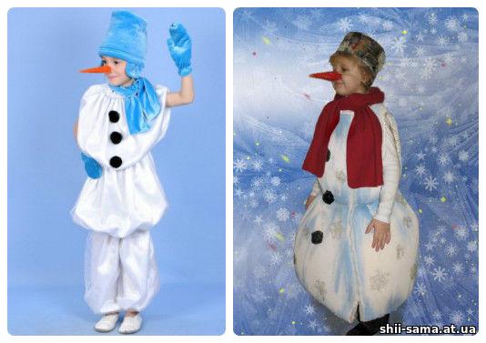 Костюм сніговика своїми руками - Різне - Все про шиття - Ший сама 20e6cd33531e8