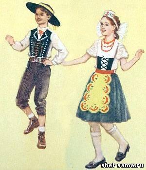 У західних областях Чехії для національної жіночої одягу були характерні  довгі сорочки із зібраним коміром і рукавами dda700f43624d