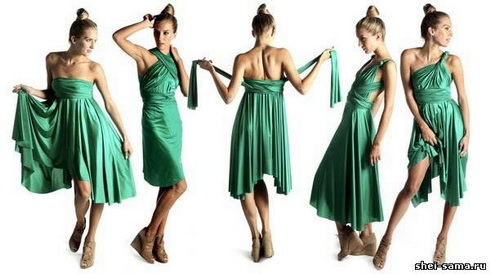 У цьому сезоні особливою популярністю користуються оригінальні сукні- трансформери 9ca28469a7d8c