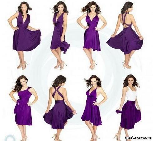 Як зшити своїми руками оригінальне плаття-трансформер  - Жіночий ... a80289e39a2d9